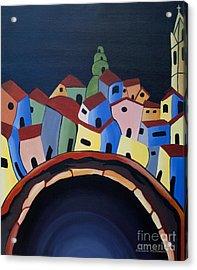 Tunnels Of Guanajuato Acrylic Print