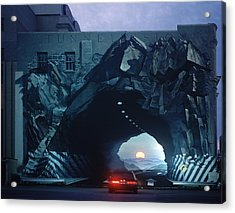 Tunnelvision Acrylic Print by Blue Sky