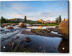 Tuolumne River Acrylic Print by Mike Lee