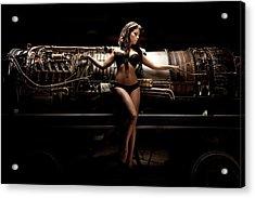 Turbine 7 Acrylic Print