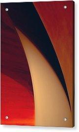 Turbine Acrylic Print by Peter Benkmann