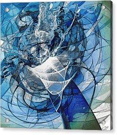 Turbulence Acrylic Print by Reno Graf von Buckenberg