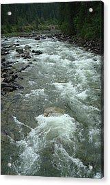Turbulent Lochsa River Acrylic Print