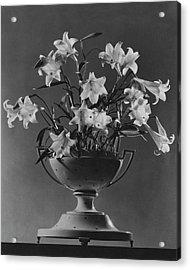 Tureen With Lilies Acrylic Print