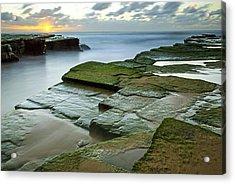 Turimetta Beach Sunrise Acrylic Print