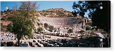 Turkey, Ephesus, Main Theater Ruins Acrylic Print