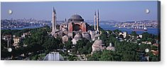 Turkey, Istanbul, Hagia Sophia Acrylic Print by Panoramic Images