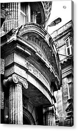 Turkish Archtiecture Acrylic Print by John Rizzuto