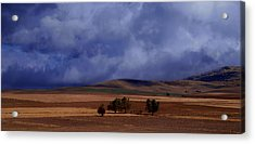 Turkish Landscape From Antalya To Konya  Acrylic Print by Jacqueline M Lewis