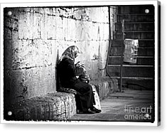 Turkish Woman Acrylic Print