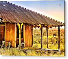 Acrylic Print featuring the photograph Turn Back Time by Wallaroo Images