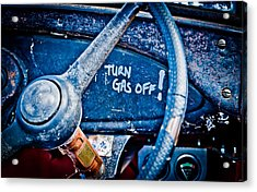 Turn Gas Off Acrylic Print by Phil 'motography' Clark