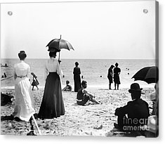 Turn Of The Century Palm Beach Acrylic Print by LOC Science Source
