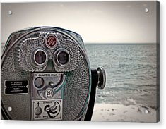 Turn To Clear The Ocean Acrylic Print by Tom Gari Gallery-Three-Photography