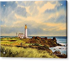 Turnberry Golf Course 9th Tee Acrylic Print