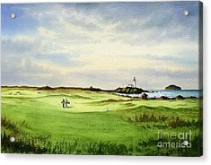 Turnberry Golf Course Scotland 12th Tee Acrylic Print