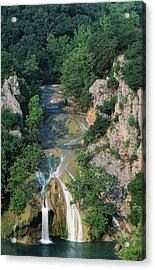Turner Falls, Arbuckle Mountains Acrylic Print by John Elk