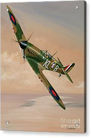 Turning For Home Acrylic Print by Richard Wheatland
