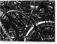 Acrylic Print featuring the photograph Turning Wheels by Maja Sokolowska