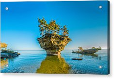 Turnip Rock Acrylic Print