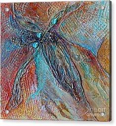 Turquoise Jewel Acrylic Print