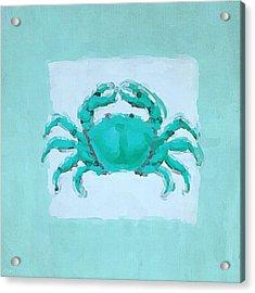 Turquoise Seashells I Acrylic Print by Lourry Legarde