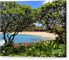 Acrylic Print featuring the photograph Turtle Bay Beach by Kristine Merc