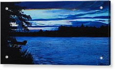 Turtle Lake Acrylic Print