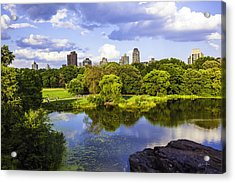 Vista Rock View 2  - Central Park - Manhattan Acrylic Print