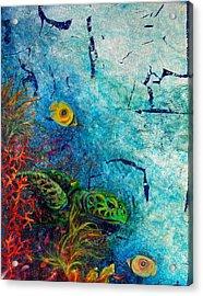 Turtle Wall 1 Acrylic Print