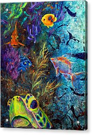 Turtle Wall 3 Acrylic Print