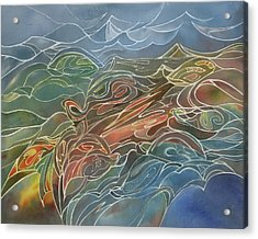 Turtles Acrylic Print by Johanna Axelrod