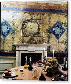 Turville Grange Dining Room Acrylic Print
