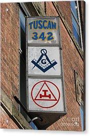 Tuscan 342 Acrylic Print by Michael Krek