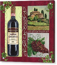 Tuscan Collage 1 Acrylic Print by Debbie DeWitt