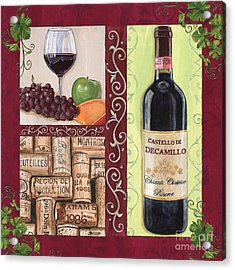 Tuscan Collage 2 Acrylic Print