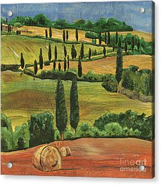 Tuscan Dream 1 Acrylic Print by Debbie DeWitt