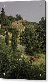 Tuscan Estate Acrylic Print
