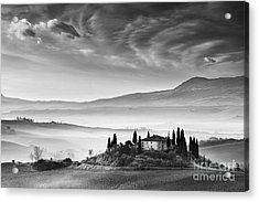 Podere Belvedere 1 Acrylic Print by Rod McLean