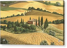 Tuscan Gold - Sold Acrylic Print by Michael Swanson