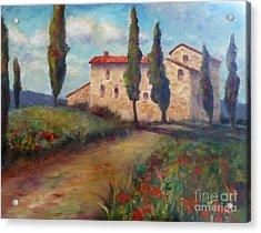 Tuscan Home Acrylic Print