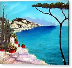 Tuscan Sea Acrylic Print