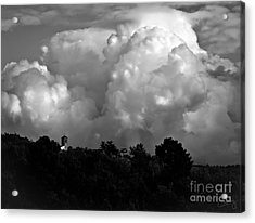 Tuscan Storm Rising From The Valley Acrylic Print