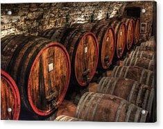 Tuscan Wine Cellar Acrylic Print