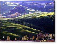 Tuscany Hills Acrylic Print by Arie Arik Chen