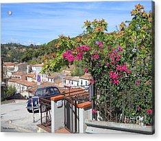 Tuscany Hills Acrylic Print by Ramona Matei