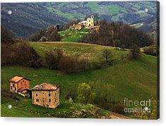 Tuscany Landscape 3 Acrylic Print by Bob Christopher
