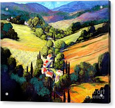 Tuscany Acrylic Print by Michael Swanson
