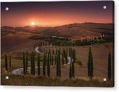 Tuscany Acrylic Print by Rostovskiy Anton