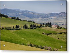 Acrylic Print featuring the photograph Tuscany by Uri Baruch